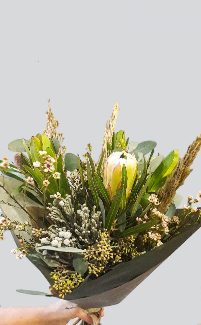 Gėlių puokštė Protėja